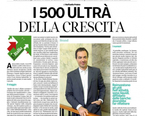 """THE 500 COMPANIES THAT DRIVE THE ITALIAN ECONOMY – ITALY THAT GENERATES THE FUTURE"""